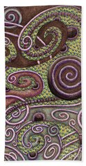 Abstract Spiral 9 Beach Towel