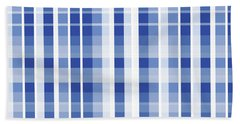 Abstract Squares And Lines Background - Dde609 Beach Towel