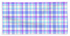 Abstract Squares Background - Dde598 Beach Towel