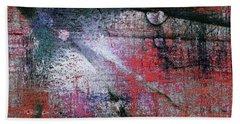 Abstract ..tracks Beach Towel