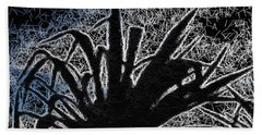 Abstract Yucca Beach Towel