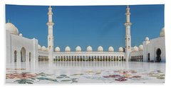 Abu Dhabi - Pano Beach Towel
