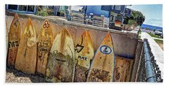 Acacia Street Beach Towel