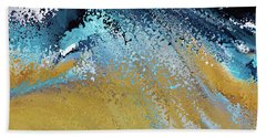 Acts 22 16. Why Are You Waiting Beach Towel