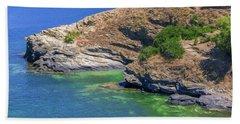 Aegean Coast In Bali Beach Sheet
