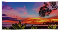 After Sunset Colors Beach Sheet