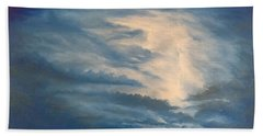 Beach Towel featuring the painting After The Storm by Kevin Daly