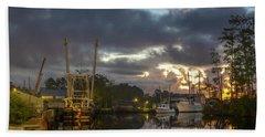After The Storm Sunrise Beach Sheet