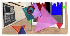 Afternoon At The Museum Beach Towel