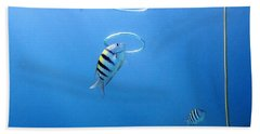 Air Rings Beach Towel