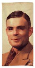 Alan Turing, Genius Beach Towel