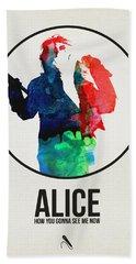 Alice Cooper Beach Towel