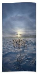 Beach Towel featuring the photograph All Is Blue For A Time by Phil Koch