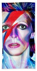 Aladdin Sane Beach Sheet