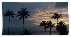Aloha And Goodbye Beach Towel