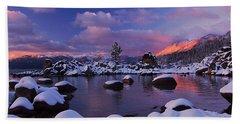 Alpenglow Visions Beach Towel