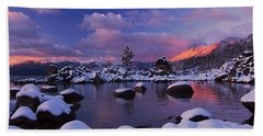 Alpenglow Visions Beach Towel