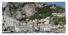 Amalfi Port Beach Towel