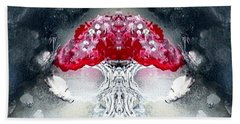 Beach Towel featuring the painting Amanita  by 'REA' Gallery