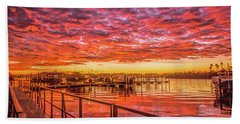 Amazing Sunrise Beach Towel