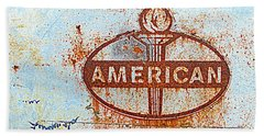 American Rusted Glory Beach Towel