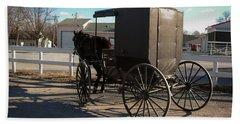Amish Transportation Beach Towel