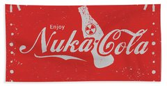An Ice Cold Nuka Cola - Fallout Universe Beach Towel