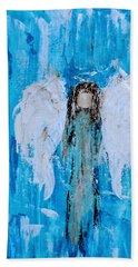 Angel Among Angels Beach Towel
