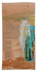 Angel Boy In Time Out  Beach Towel