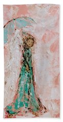 Angel By Your Side Beach Towel