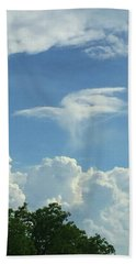 Angel Cloud Appears  Beach Sheet