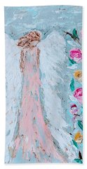 Angel For Childbirth And Beach Towel