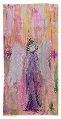 Angel In  Paradise Beach Towel