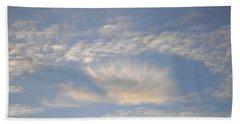 Angel In The Sky Beach Towel