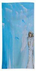 Angel Of Simplicity Beach Towel
