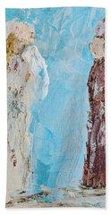 Angel Of Wisdom Beach Towel