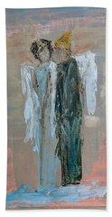 Angels In Love Beach Towel