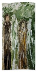 Angels For Support Beach Towel