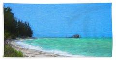 Anna Maria North Shore Beach Towel