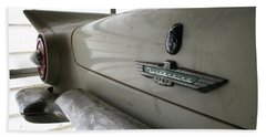 Antique Classic Car Beach Towel