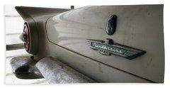 Antique Classic Car Beach Sheet