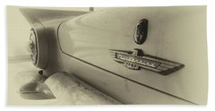 Antique Classic Car Vintage Effect Beach Sheet