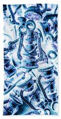 Antiquity Blue Beach Towel