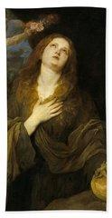 Antonio Van Dyck / 'saint Rosalia', 1622-1627, Flemish School. David Teniers The Younger . Beach Towel