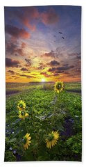 Beach Towel featuring the photograph Any Time At All by Phil Koch