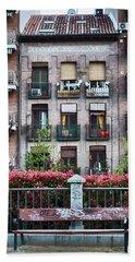Apartments In Madrid Beach Towel