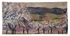 Apple Blossom Geuldal Beach Towel