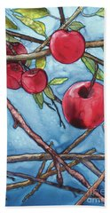 Apple Harvest Beach Towel