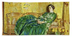 April, The Green Gown - Digital Remastered Edition Beach Towel