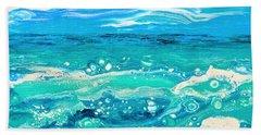 Aqua Seafoam Beach Towel